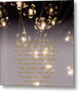 May Light Surround You Metal Print