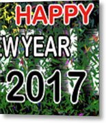 New Year Metal Print
