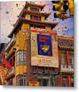 New Year In Chinatown Metal Print