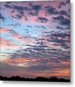 New Year Sunrise One Metal Print