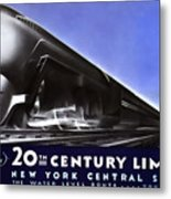 New York 20th Century Limited Train  1938 Metal Print