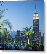 New York 230 Fith Rooftop Bar  Metal Print
