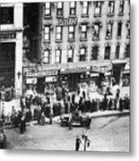 New York: Bank Run, 1930 Metal Print