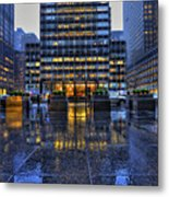 New York Blues Metal Print