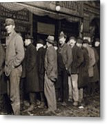 New York: Bread Line, 1907 Metal Print
