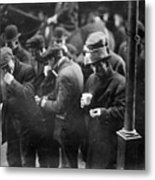 New York: Bread Line, 1915 Metal Print