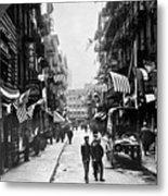 New York : Chinatown, 1909 Metal Print