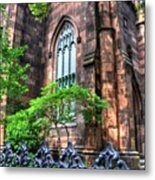 New York Church Metal Print