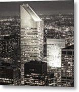 New York Citigroup Center  Metal Print