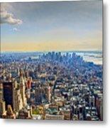 New York City - Manhattan Metal Print