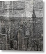 New York City 1 Metal Print