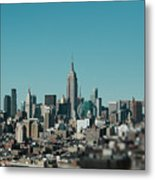 New York City Blues Metal Print