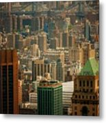 New York City Buildings And Skyline Metal Print