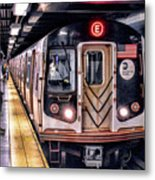 New York City Charles Street Subway Station Metal Print