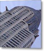New York City - Chrysler Building 002 Metal Print