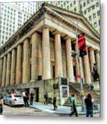 New York City Federal Hall Metal Print