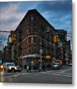 New York City - Greenwich Village 011 Metal Print by Lance Vaughn