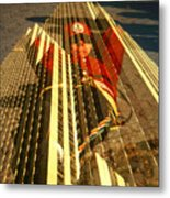 New York City Jogger - Collage Metal Print