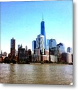 New York City Cityscape Metal Print