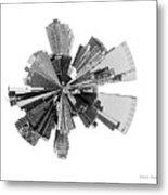 New York City Lily Metal Print