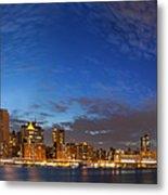 New York City Manhattan Skyline Panorama Metal Print