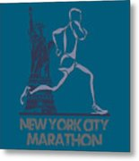 New York City Marathon3 Metal Print