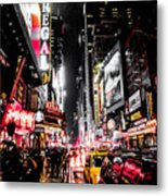 New York City Night II Metal Print