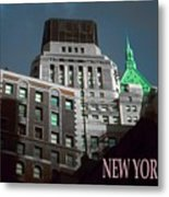 New York City Poster - Wall Street Metal Print