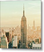 New York City - Skyline Dream Metal Print