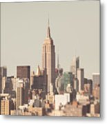 New York City Skyline II Metal Print