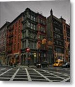 New York City - Soho 006 Metal Print