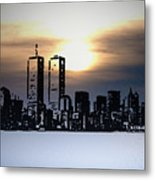 New York City - The Way We Were Metal Print