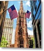 New York City Trinity Church Metal Print