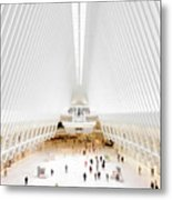 New York City World Trade Center Oculus Metal Print