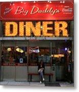 New York Diner 1 Metal Print