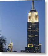 New York Empire State Building  Metal Print
