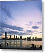 New York Hudson River Metal Print