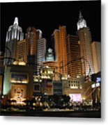 New York Las Vegas Metal Print