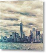 New York Lightleak Metal Print
