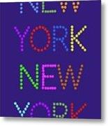 New York No 5  Metal Print