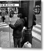 New York, New York 3 Metal Print