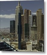 New York New York View 2 Metal Print
