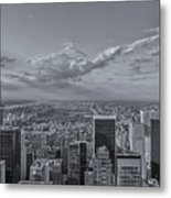 New York Skyline - View On Central Park - 2 Metal Print