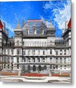 New York State Capitol Metal Print