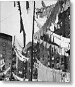 New York: Tenement, 1936 Metal Print