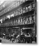 New York: Tenements, 1912 Metal Print by Granger
