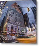 New York Time Square  Metal Print