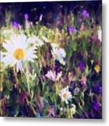New York Wildflowers Xxv Metal Print