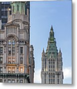 New York Woolworth Building  Metal Print