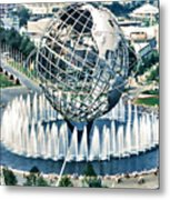 New York World's Fair Metal Print